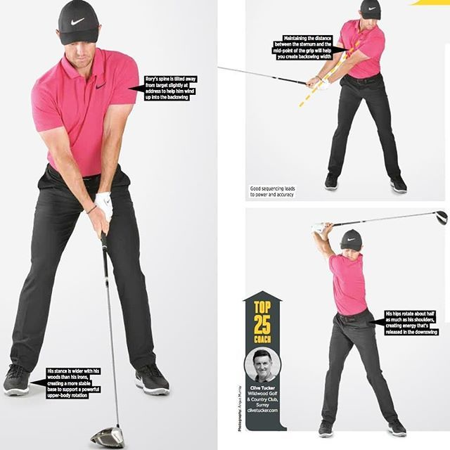 Golf Monthly On Twitter 5 Rory Mcilroy Driver Swing Keys
