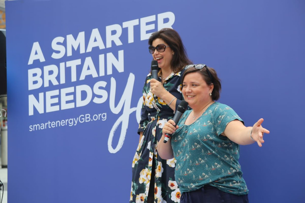 Thank you Cardiff, such sunny a welcome for ⁦@SusanCalman⁩ & me ⁦@SmartEnergyGB⁩ #Philwho #NewBF