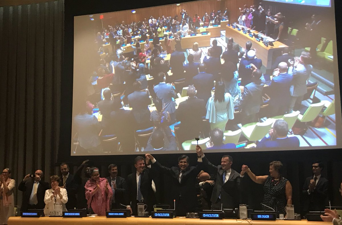 Iom Office Un Ny On Twitter Breaking The Un General Assembly