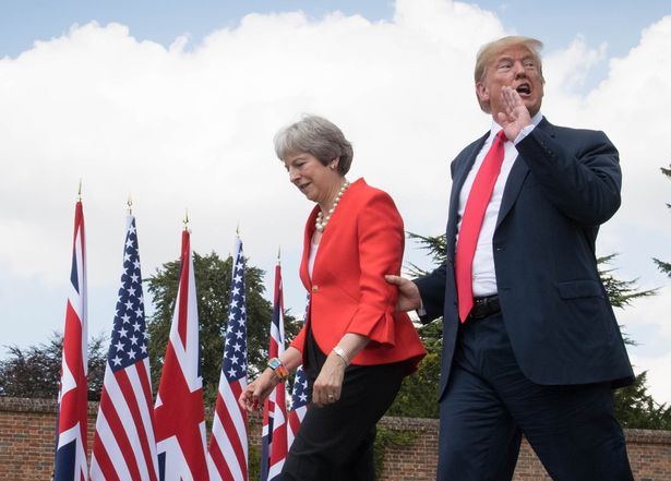 13 toe-curling moments from Donald Trump's press conference with Theresa May https://t.co/BrqnGXbbWD https://t.co/ahjRDI9Ew4