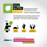 Image for the Tweet beginning: Please RT: Join WaterAid India's