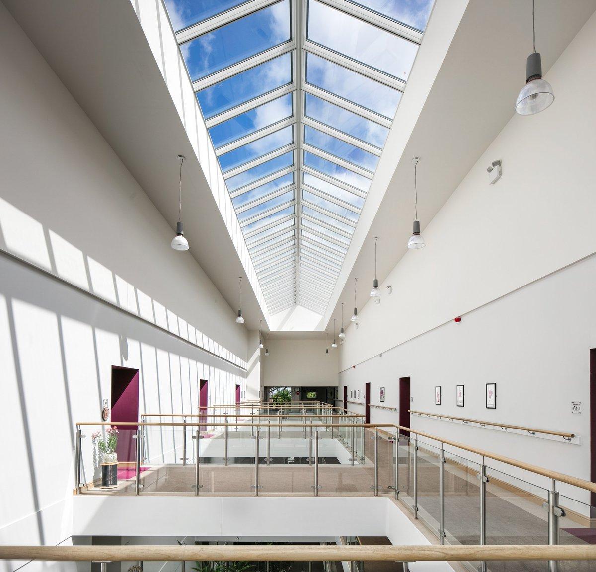 "Velux Reference intérieur velux gbi on twitter: ""high levels of natural light and ventilation"