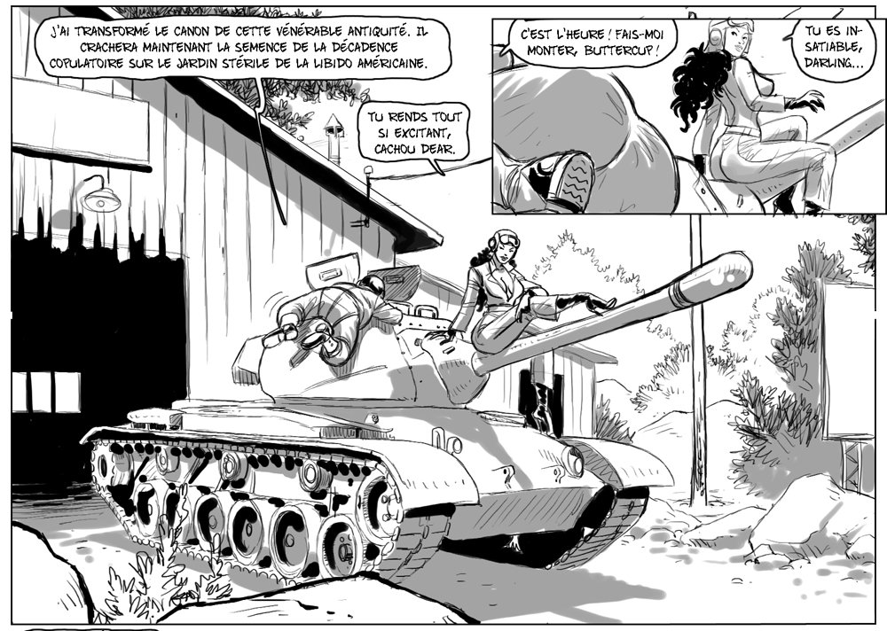 tankgirl patton comics