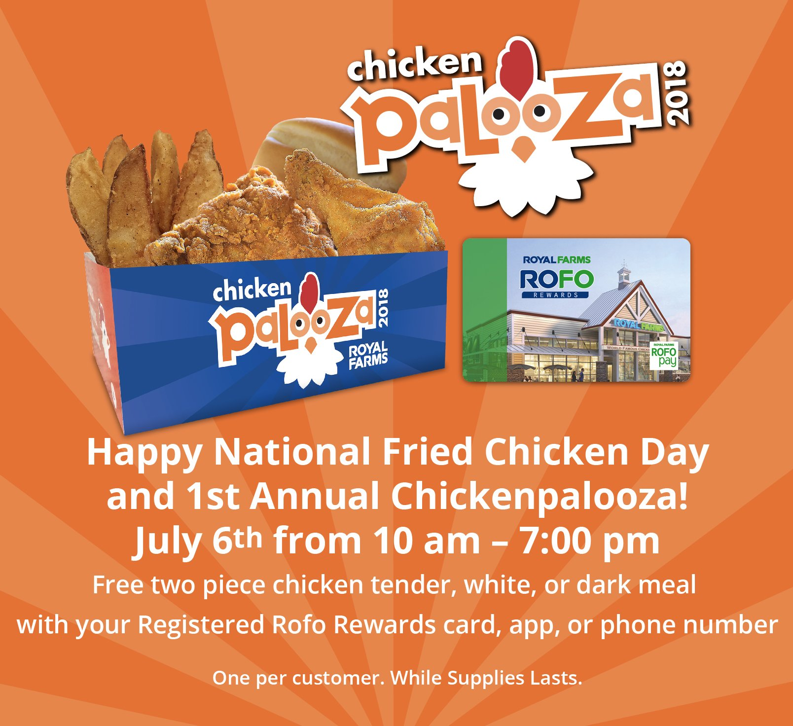 Royal Farms On Twitter Happy National Fried Chicken Day