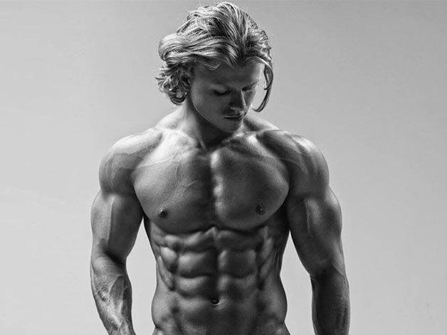 Aidan Broddell : International fitness model ripped diabetic Aidan Broddell  reveals daily diet   Men's Health   Scoopnest