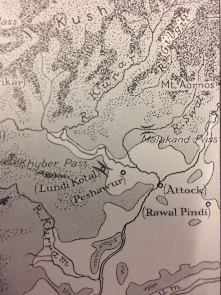 Peter Stewart On Twitter Nice Old Maps Of Central Asia Gandhara Indus Etc In M Cary The Geographic Background Of Greek Roman History Oxford 1949 Https T Co Beyrjz0urt