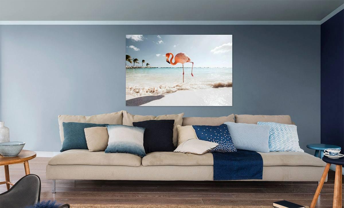 Minimalistisch interieur muurdecoratie minimalistisch interieur