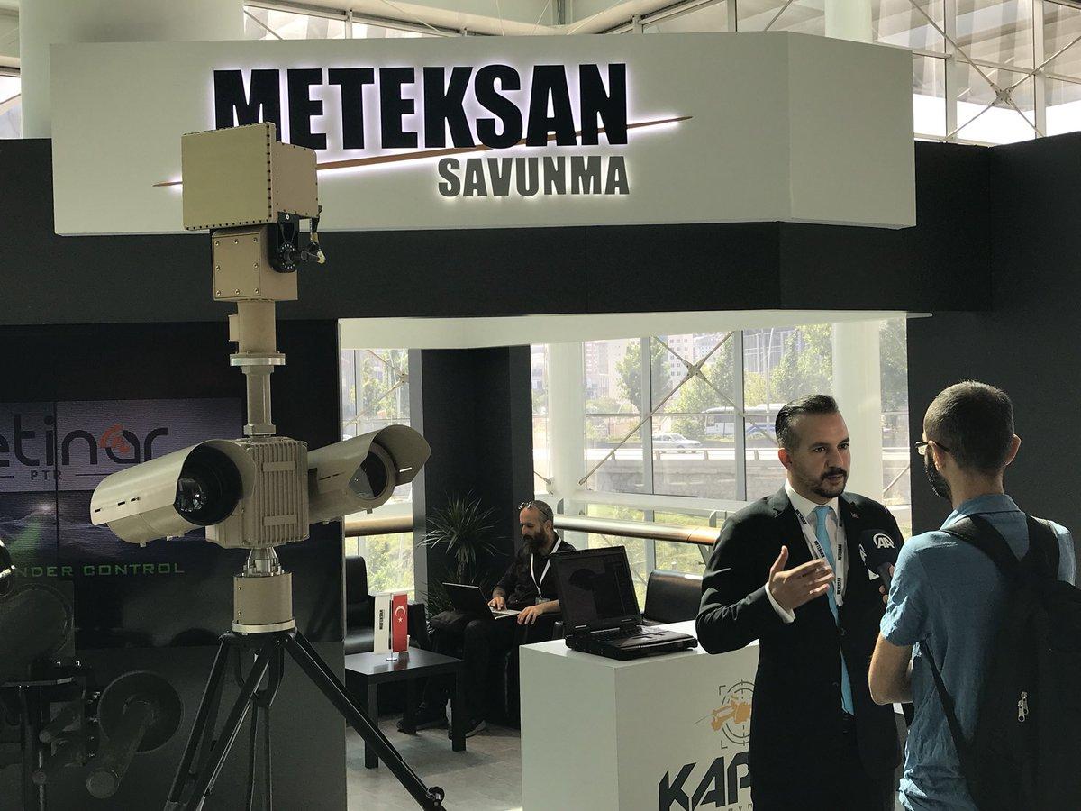 شركة Meteksan Savunma التركية  تطور نظاماً جديداً لتحييد طائرات درون المعادية DhaIn-8XcAEEMCp