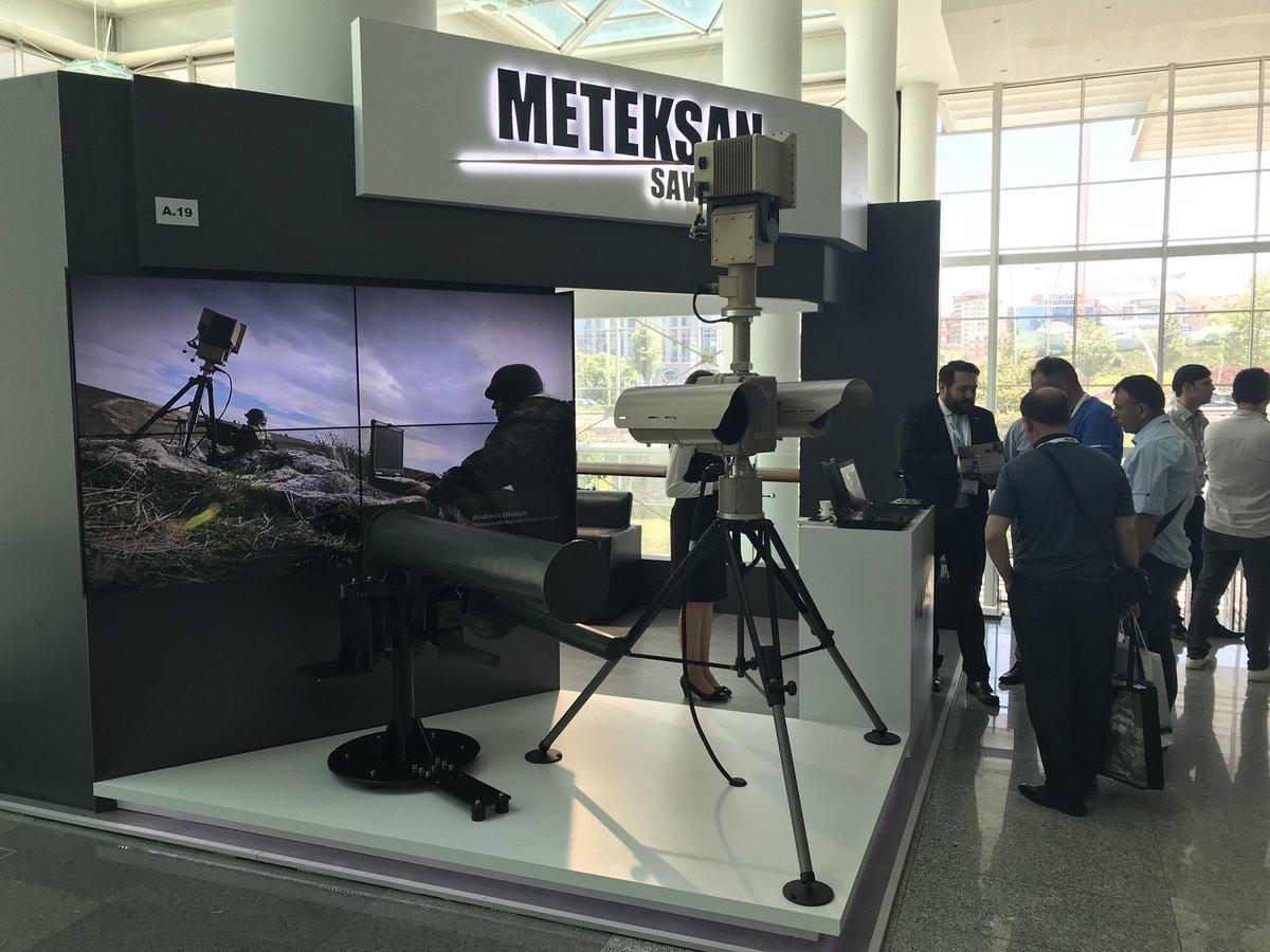 شركة Meteksan Savunma التركية  تطور نظاماً جديداً لتحييد طائرات درون المعادية DhaIn-9WsAE0YX1