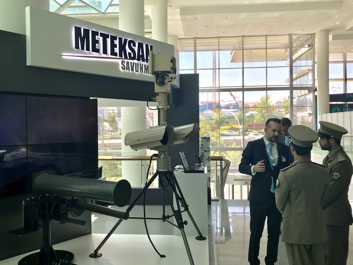 شركة Meteksan Savunma التركية  تطور نظاماً جديداً لتحييد طائرات درون المعادية DhaIoAFXcAEx8fh