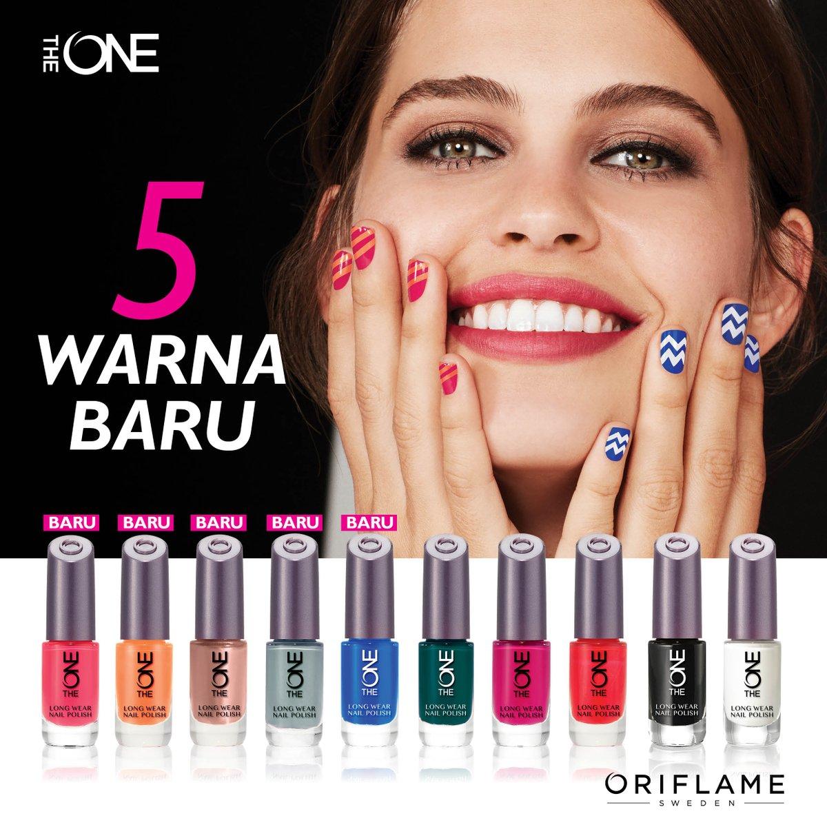 Oriflame Indonesia على تويتر Sudah Punya 5 Warna Baru Dari The One Long Wear Nail Polish Yang Ceria Ini Kalau Belum Yuk Lengkapi Koleksi Kutek Anda Sekarang Dengan Penawaran Harga Spesial Hanya