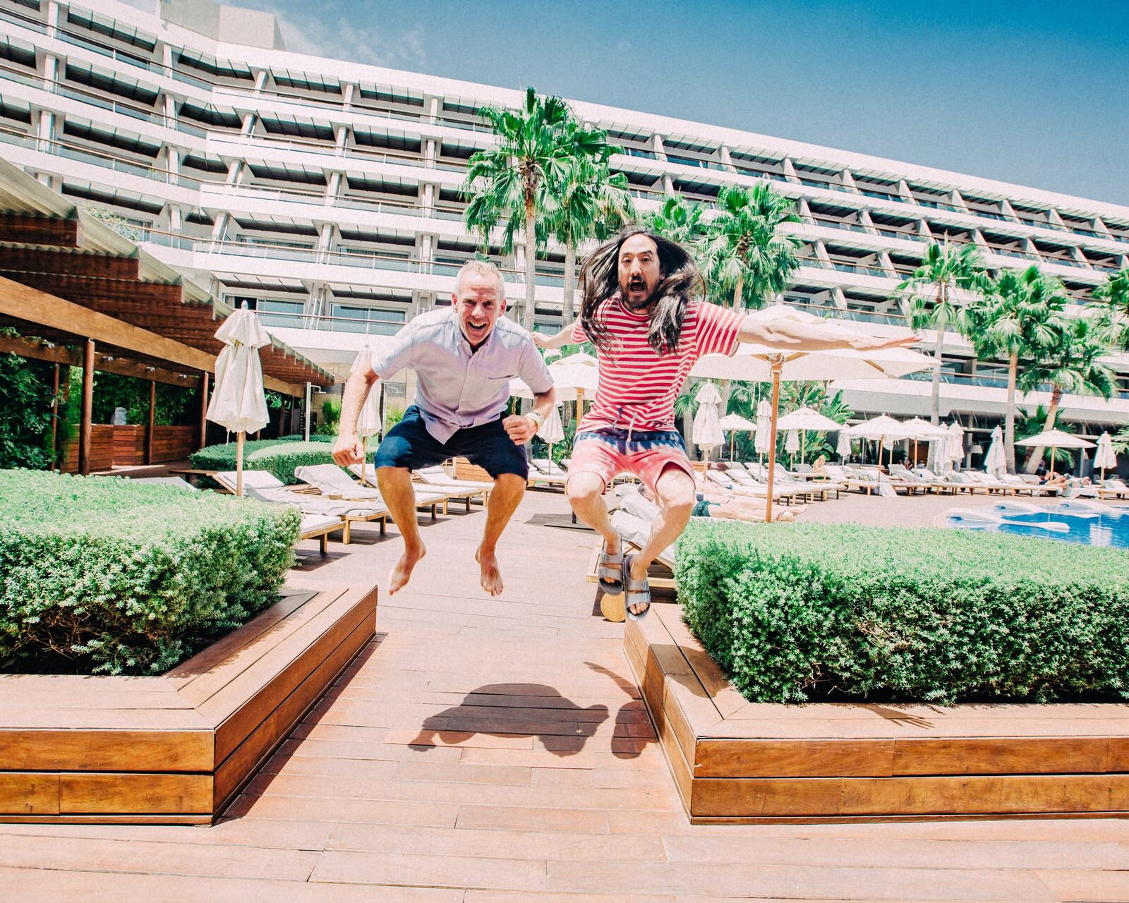 #aokijump #915. The Aoki x @FatBoySlim Jump. Ibiza Gran Ibiza Spain ���� july 3 2018 https://t.co/iktSWGEYzV