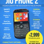 Apologies: Feature phone exchange offer reported for  #JioPhone2 by paying just ₹501 is ideally for #JioPhone1 - #JioPhone2 will continue to be sold for ₹2,999