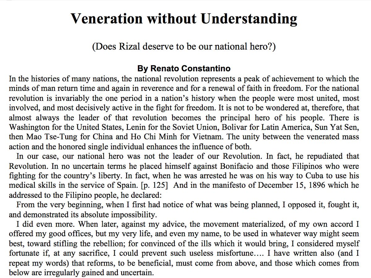 veneration without understanding dissent and counter consciousness