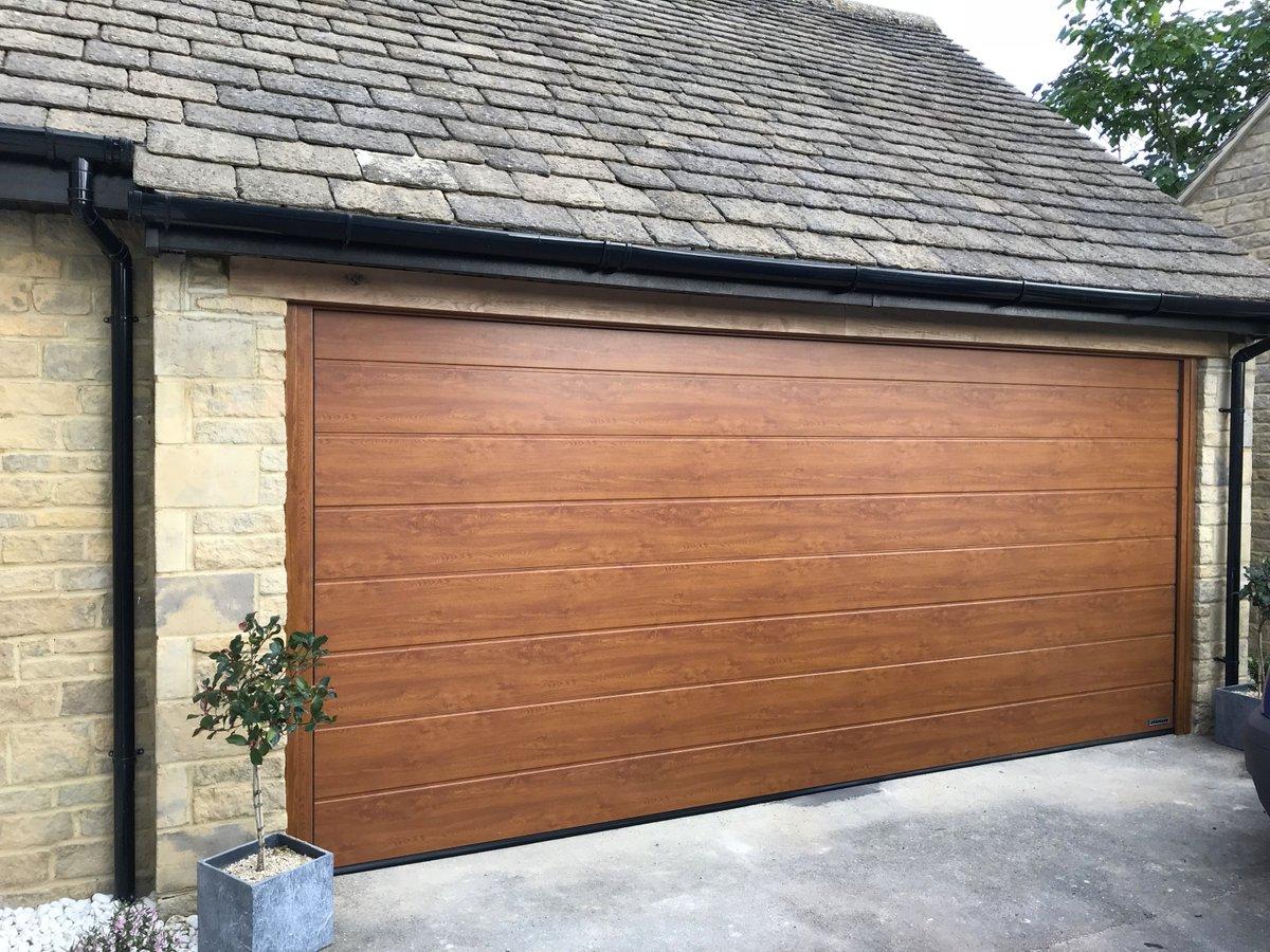 Access Garage Doors On Twitter Completed Double Door Conversion