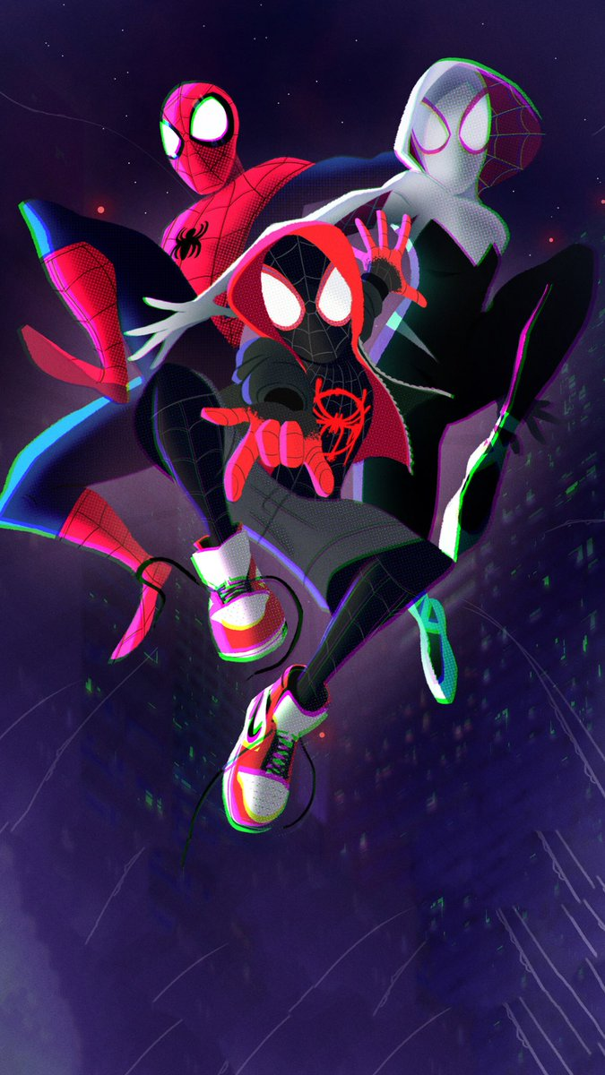 Spider-man:Into Spiderverse Wallpaper HD Quality Enjoypic.twitter.com/QUyjbvtEl0