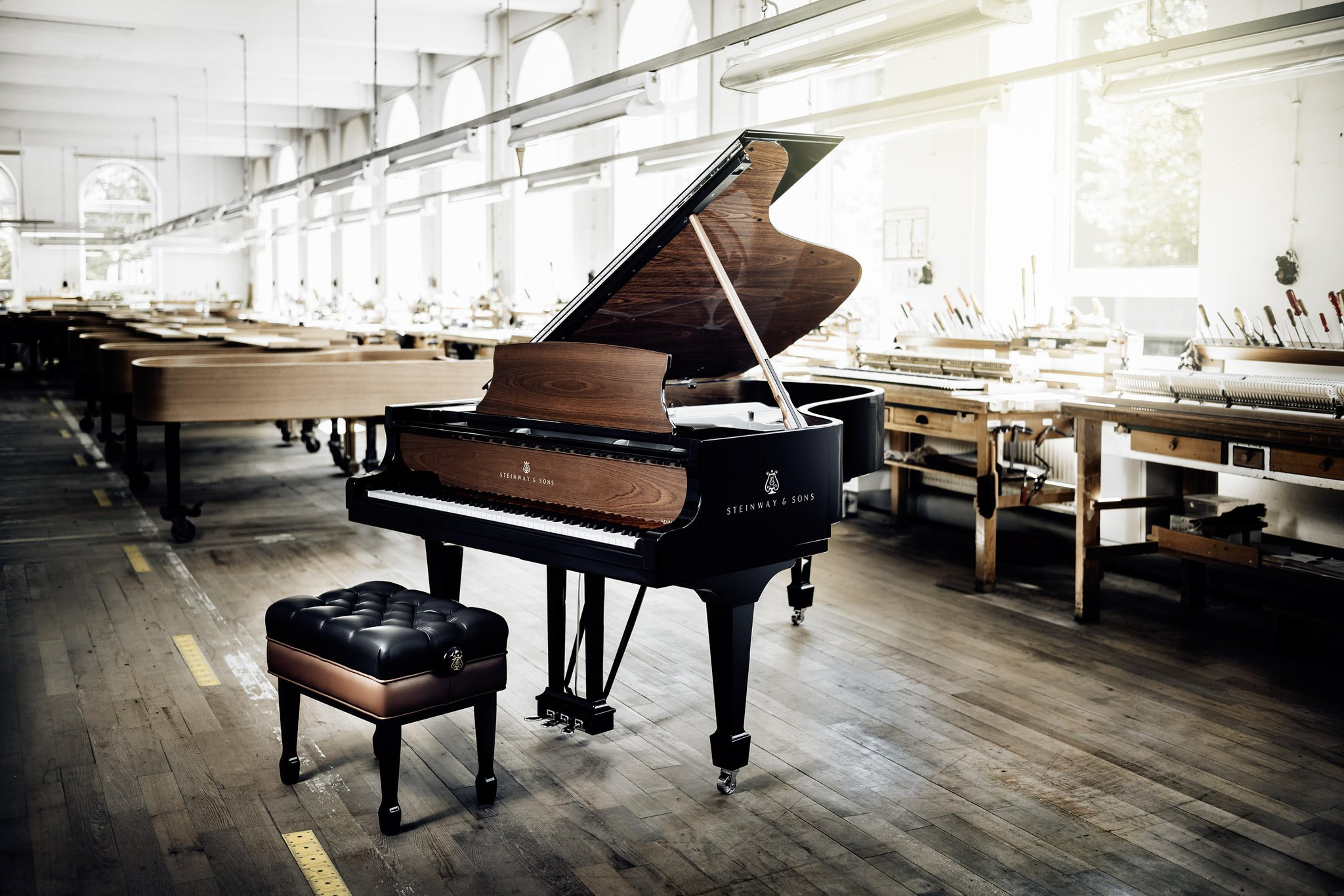 Reloaded twaddle – RT @SteinwayAndSons: When precision, experience and innovation go hand in hand: ...