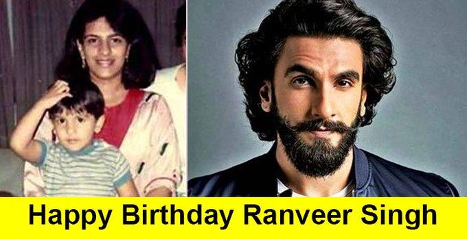 Ranveer Singh turns 33 Happy Birthday