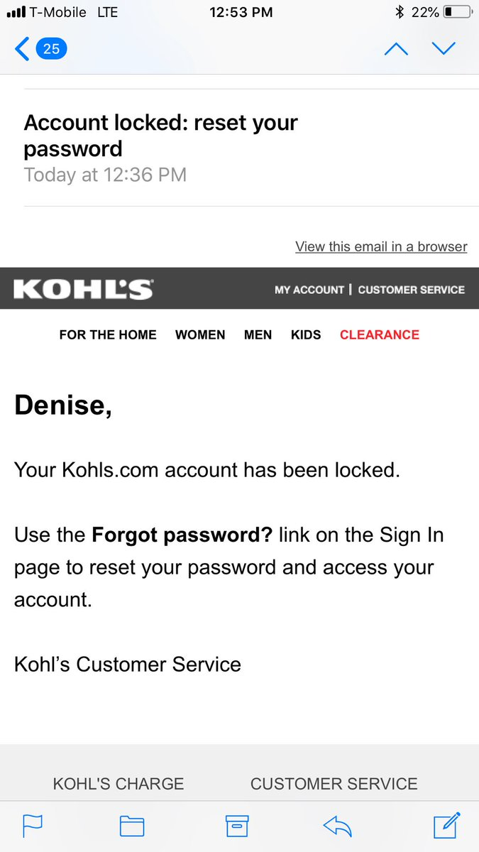 why not clarify in the email think about the messaging to your customer kohls customerservice dataprotectionpictwittercomj2vqez6zzy