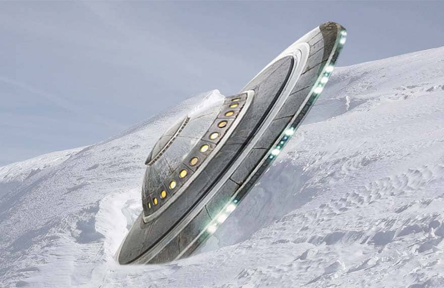 фото нло в антарктиде оладьи
