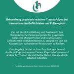 Image for the Tweet beginning: #Fortbildung: Gemeinsam mit der #Psychotherapeutenkammer
