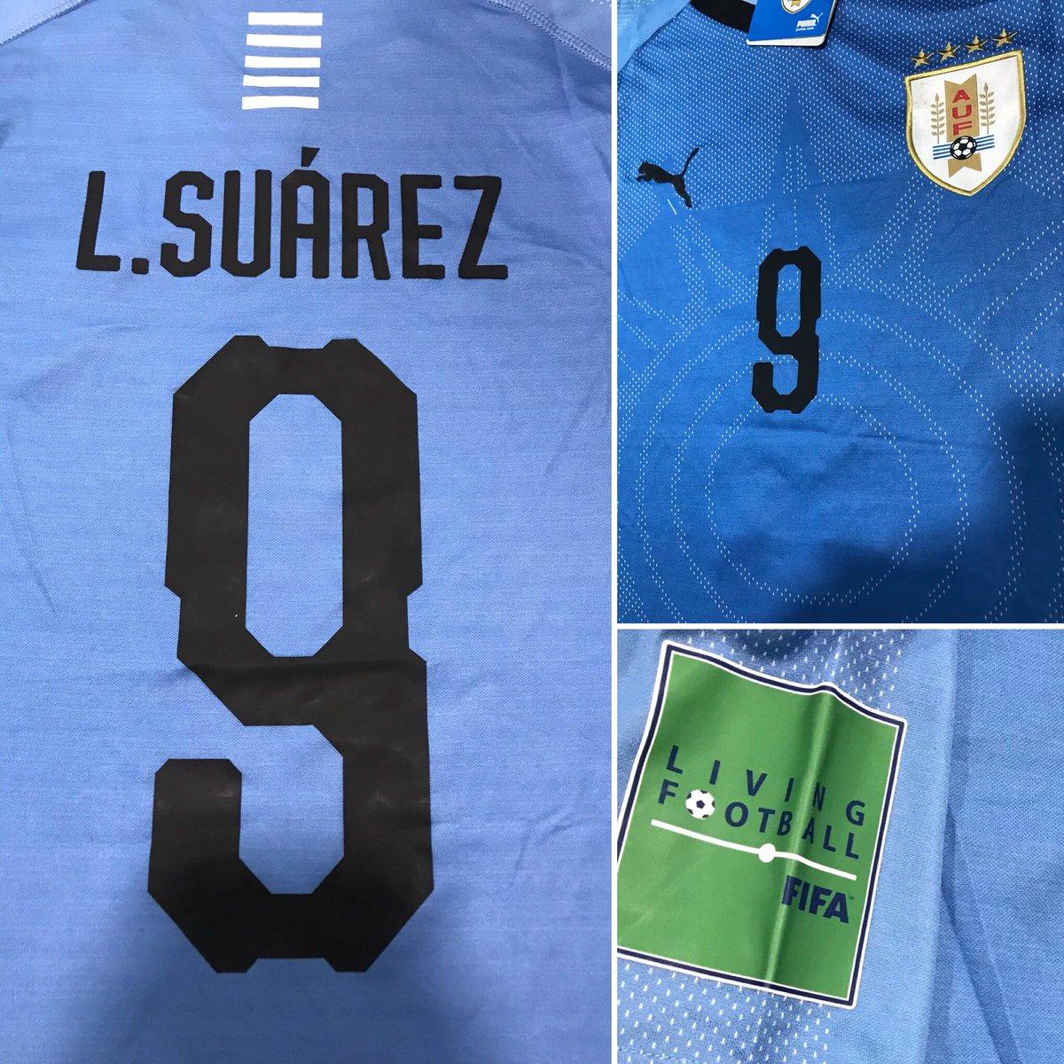 Sigue a @tdmas_cr, dale RT a la imagen y participa por la camisa de Suárez, sorteo esta noche