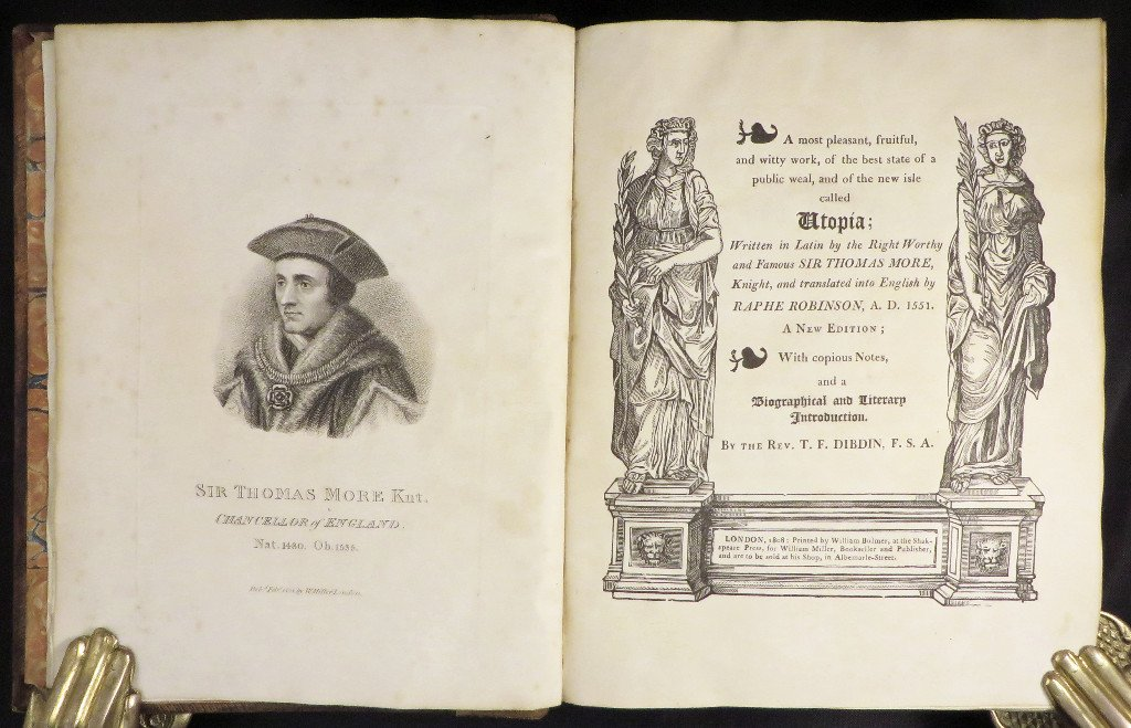 thomas mores utopia essay Get help on 【 analysis of thomas more's utopia essay 】 on graduateway huge assortment of free essays & assignments the best writers.