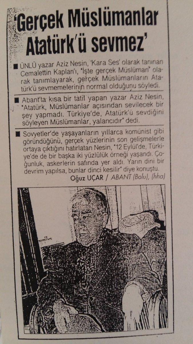 Kadir Mısıroğlu On Twitter Aziz Nesin Aziznesin Bakın Neler