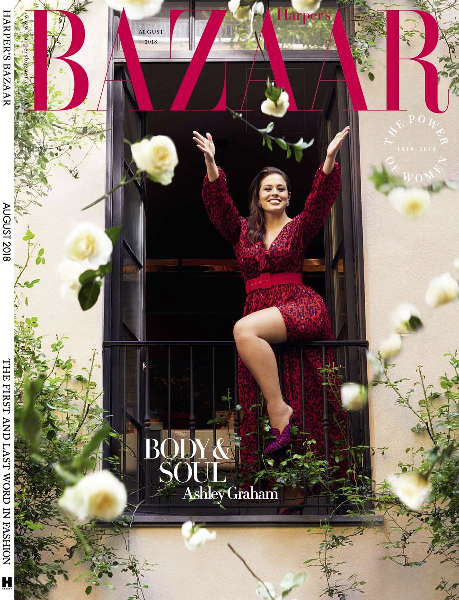e715cd60205 theashleygraham is a vision of loveliness in the statement red dress from  the  MRByFaustoPuglisi Capsule Collection on the  harpersbazaaruk cover  story.