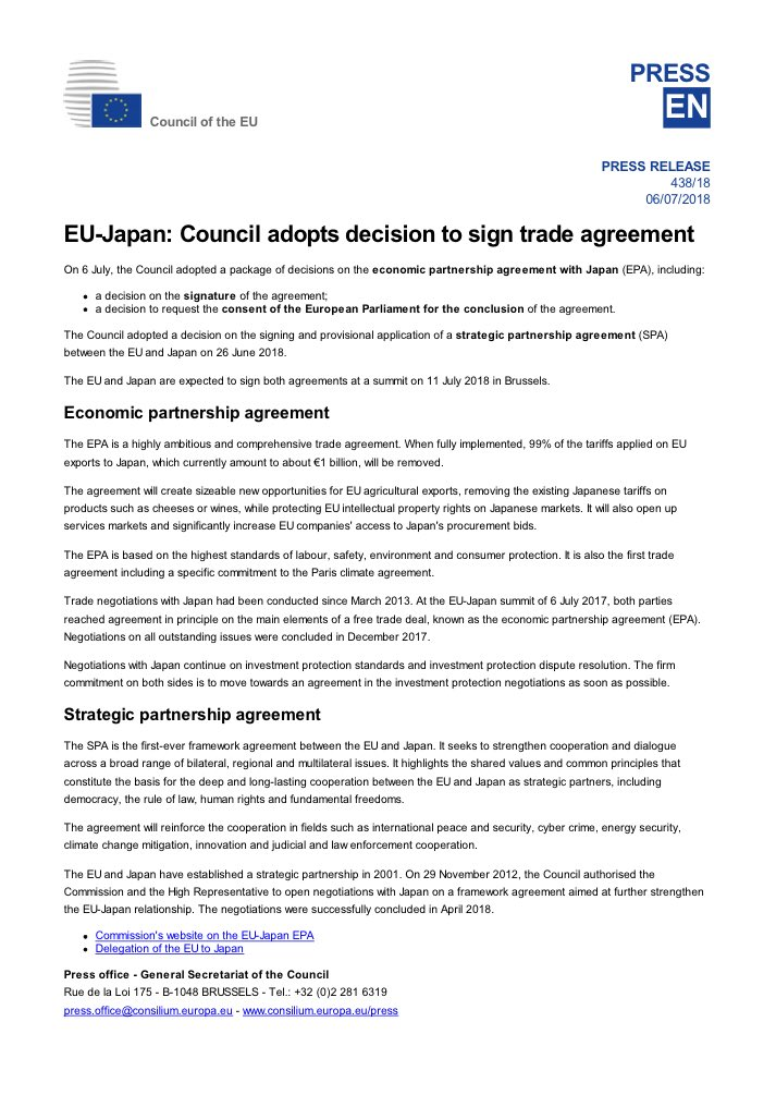 Taishu Pitt On Twitter The European Council Decides To Sign The
