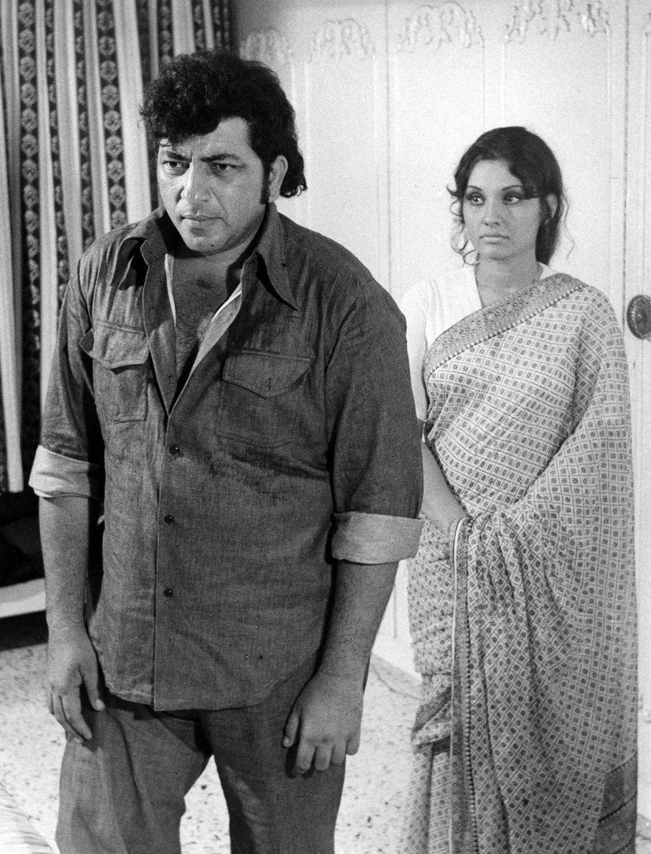 Film History Pics On Twitter 1977 Amjad Khan And Vidya Sinha In