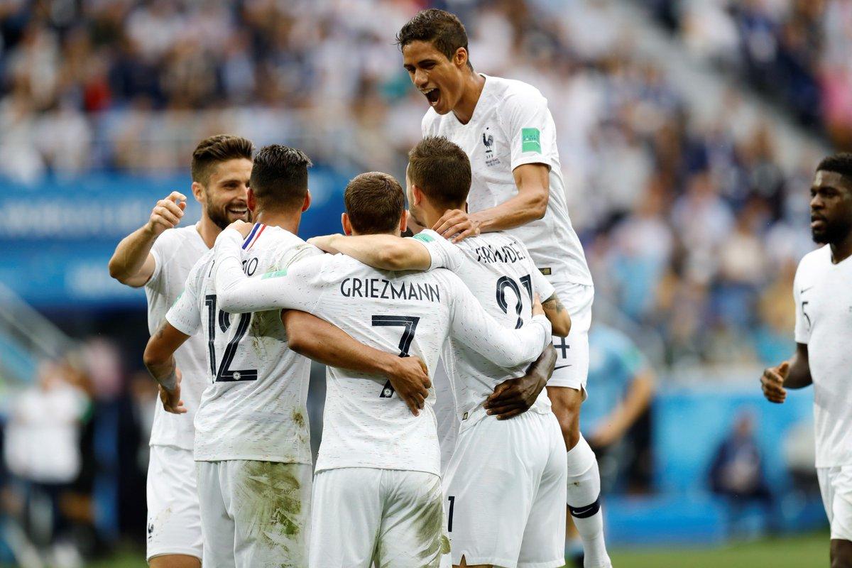 Kết quả Uruguay 0-2 Pháp: 12 năm giờ như mơ