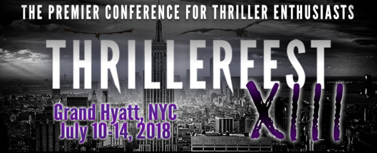 Can you think of a better way to spend Friday THE 13th?! ThrillMaster George R. R. Martin at ThrillerFest XIII #13squared #thrillerfest thrillerfest.com