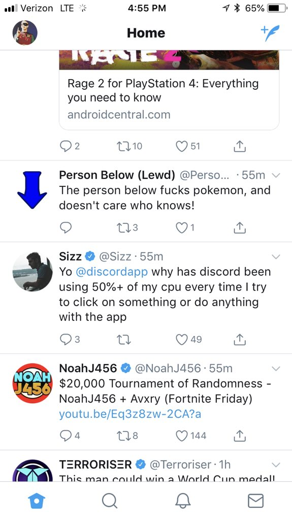 Sizz On Twitter Yo Discordapp Why Has Discord Been Using 50 Of My Cpu Every Time I Try To Click On Something Or Do Anything With The App