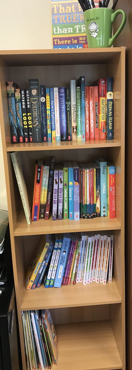 Excited To Put Together A New Bookshelf In My Office Beginning Fill It With Birthday Booksonly Need About 400 More Scholastic Leadlit
