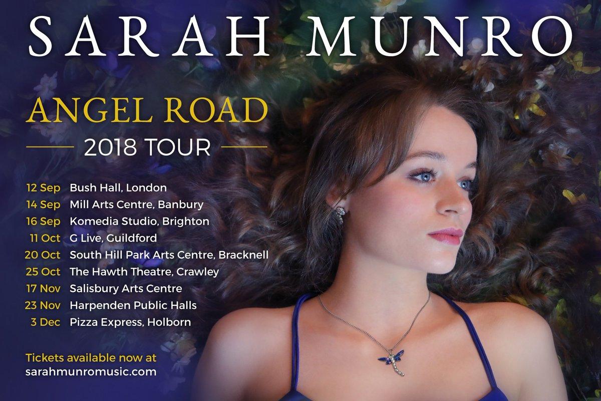Sarah Munro On Twitter Angel Road Tour Dates Autumn
