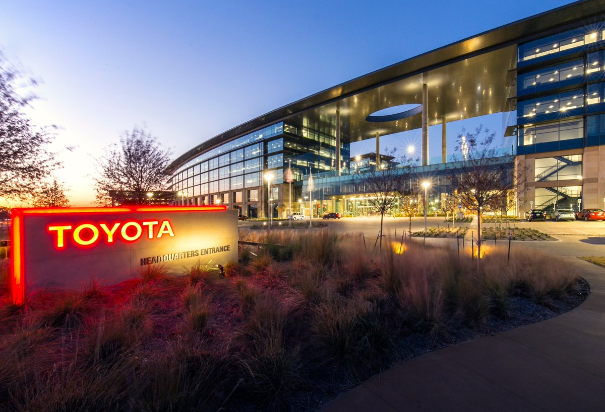 Toyota Headquarters Plano Texas >> Austin Commercial On Twitter One Year Ago Today Marked The