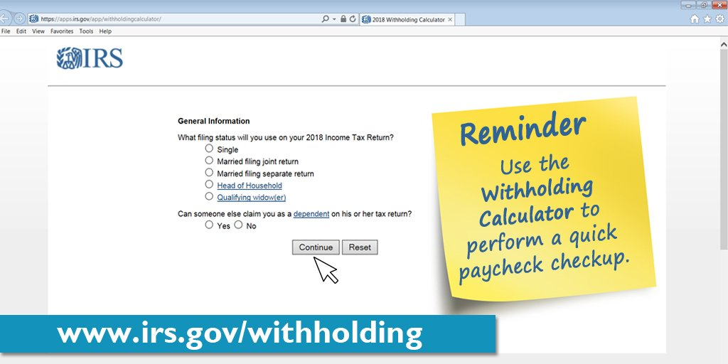 weekly tax withholding calculator