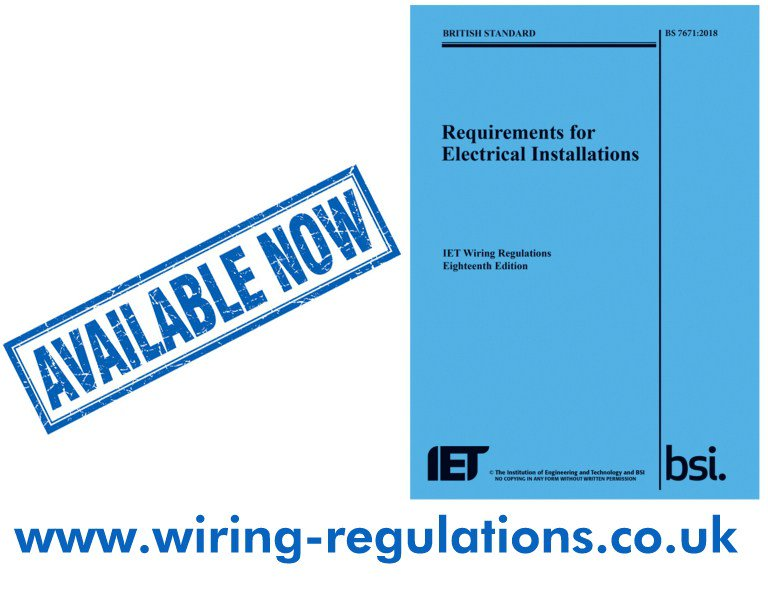Cool Wiring Regulations On Twitter Order Now Eighteenth Edition Bs Wiring Cloud Hisonuggs Outletorg