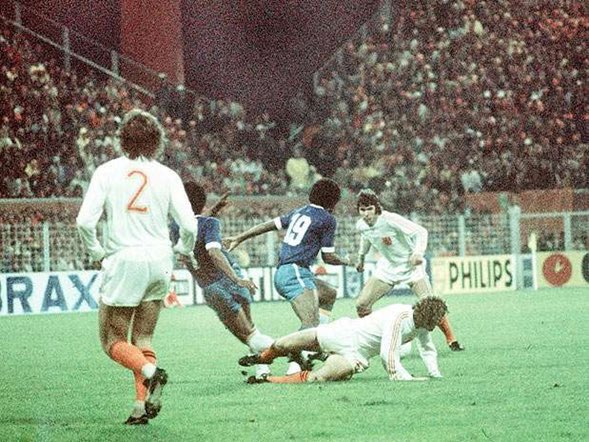 Image result for netherlands vs brazil 1974