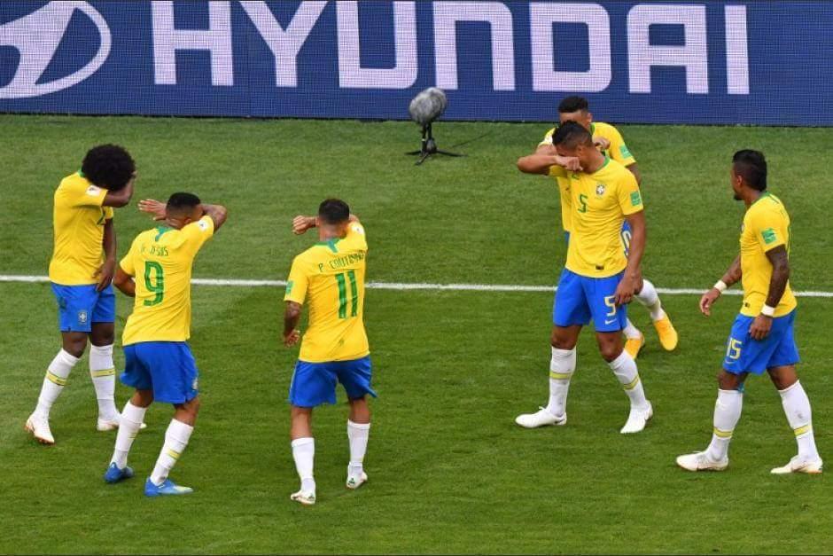 Bélgica derroto 2-1 a Brasil en los Cuartos