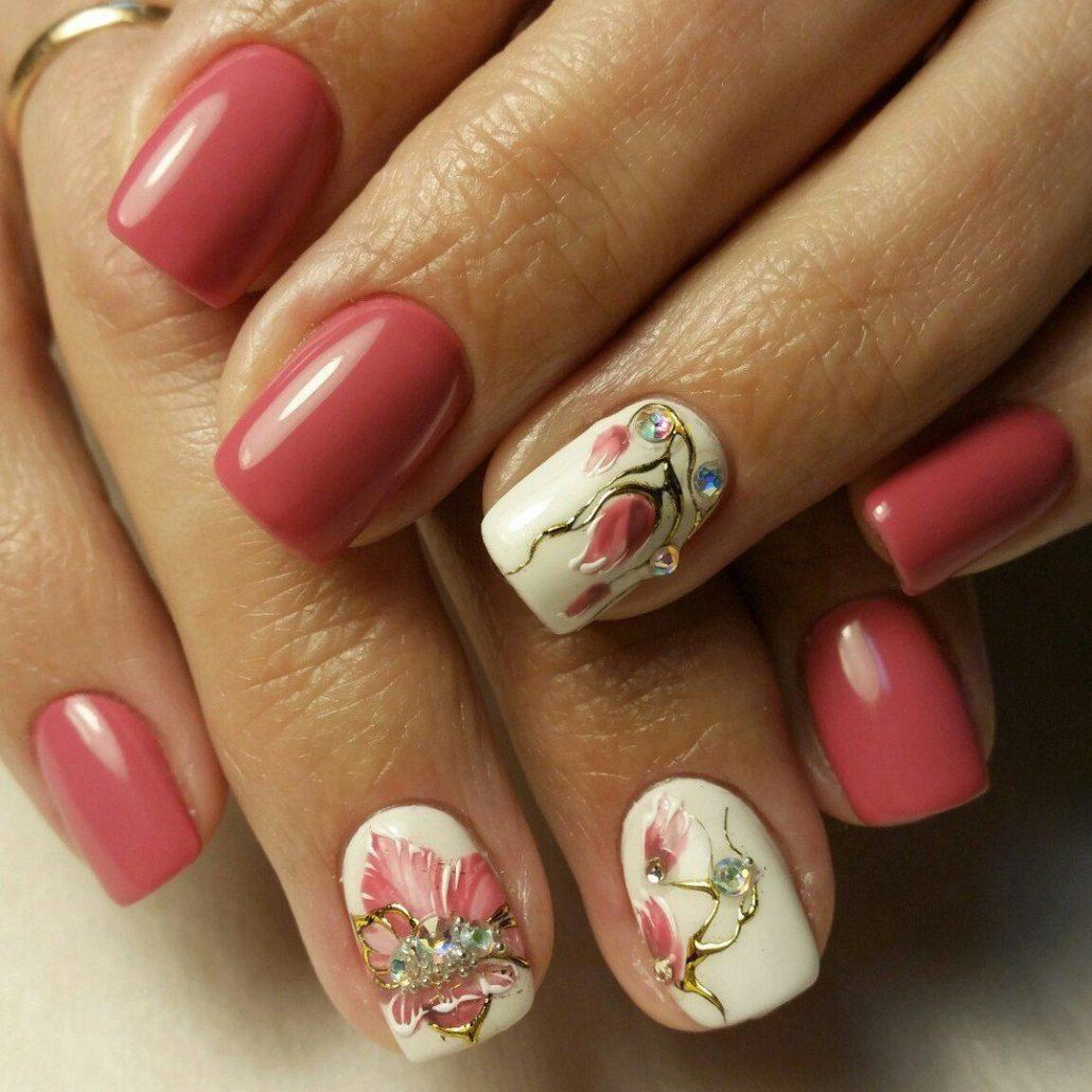 Фото маникюра новинки на короткие ногти весна