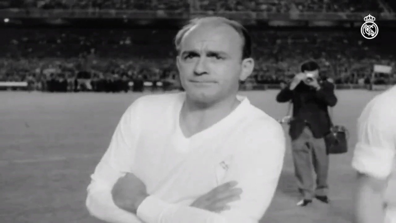 ✨ Cuatro años sin Alfredo Di Stéfano. #RMHistory | #RealMadrid �� https://t.co/yncYWmmFpL https://t.co/SXJilNwc94