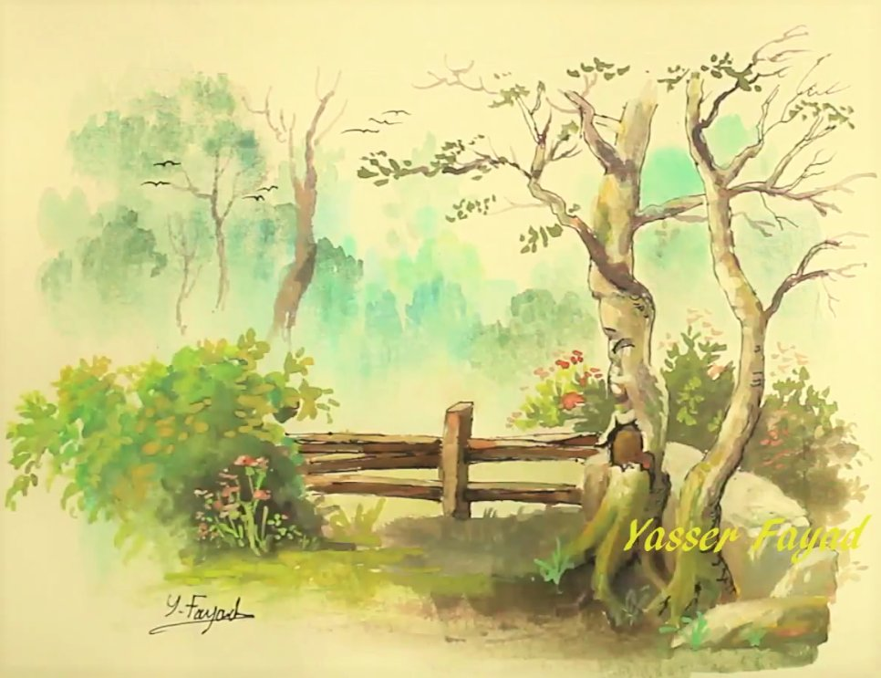 Simple Watercolor Painting Landscape With Yasser Fayad https://t.co/9CT6oj5REu #watercolor #painting #drawing #art #artvideo #yasser #fayad #draw https://t.co/JR3pYIMGhe