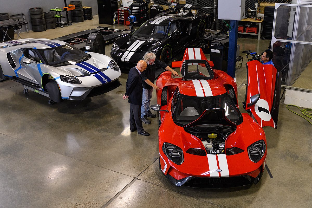 Fordimsa Imsatherton Took An Exclusive Tour Of The Ford Gt Factory Where Ford Gt Is Built Before The Race At Ctmpofficial Ford Fordgtpic Twitter Com