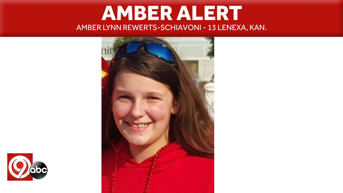 IT TAKES 2 SECONDS TO RT: An #AmberAlert has been issued for Amber Lynn Rewerts-Schiavoni. Investigators believe she took a bus from Kansas City to Minneapolis/St. Paul with a 22-year-old man. Anyone with information is asked to call the 816-474-8477. https://t.co/dMsBlWZTzZ