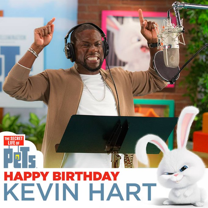 Happy Birthday Kevin Hart, the voice behind Snowball.