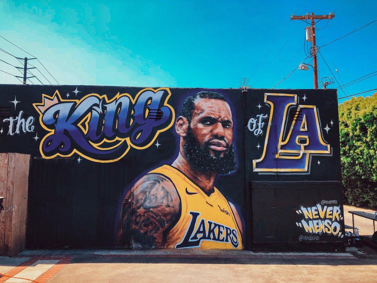 mural in Los Angeles by artist Jonas Never