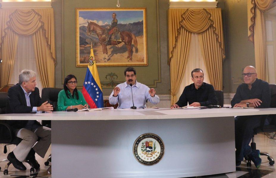 #EsNoticia �� | Ejecutivo venezolano refuerza estrategias en materia económica @NicolasMaduro https://t.co/d8gS5unmuu https://t.co/iktYJ9UjNK