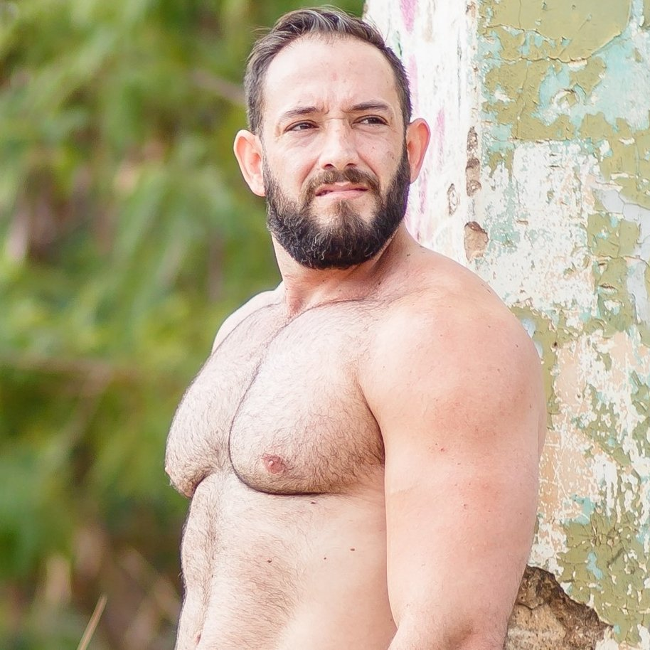 muskel hairy daddy